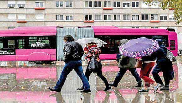 اتوبوس های رایگان برای فرانسوی ها