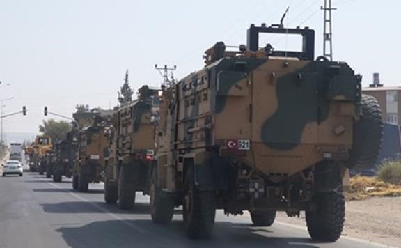 یک کاروان نظامی ترکیه وارد سوریه شد